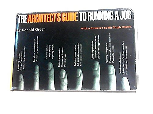 9780851390116: Architect's Guide to Running a Job