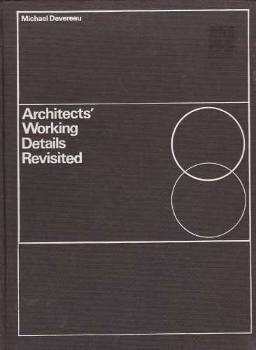 9780851390475: Architects' Working Details Revisited