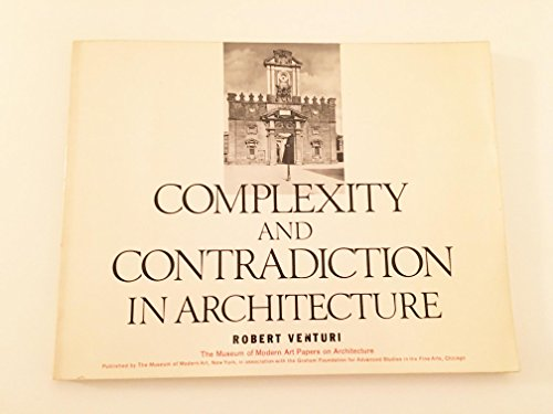 9780851391113: Complexity and Contradiction in Architecture