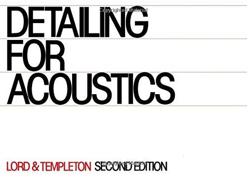 9780851391441: Detailing for Acoustics