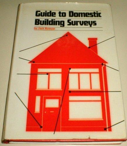 9780851392677: Guide to Domestic Building Surveys