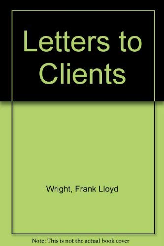 9780851393537: Letters to Clients