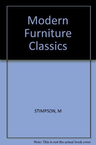 9780851394060: Modern Furniture Classics