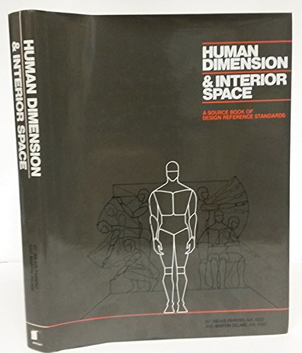 9780851394572: Human Dimension & Interior Space: A Source Book of Design Reference Standards
