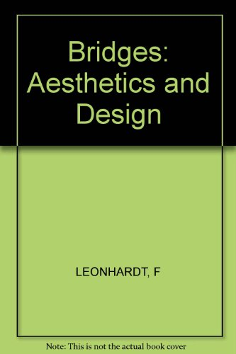 9780851397641: Bridges: Aesthetics and Design