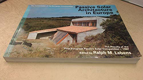 9780851399614: Passive Solar Architecture in Europe: Bk. 1