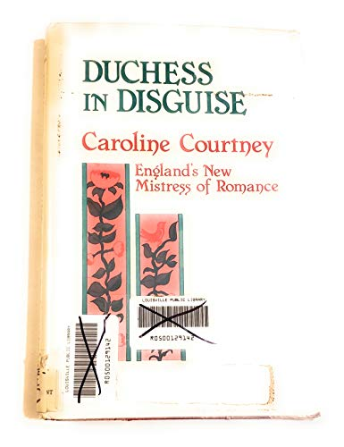 9780851402932: Duchess in Disguise