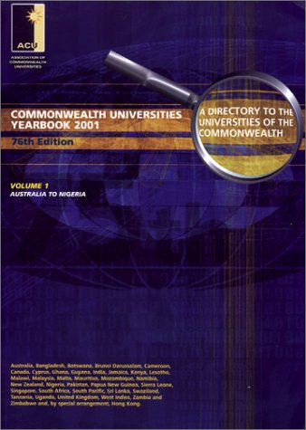 9780851431789: Commonwealth Universities Yearbook: A Directory to the Universities of the Commonwealth and the Handbook of Their Association