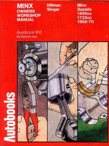 Hillman New Minx 1966-70 autobook: BALL, Kenneth