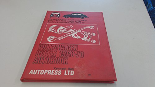 Volkswagen Beetle 1968-70 Autobook (The autobook series: Ball, Kenneth