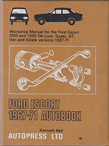 9780851471891: Ford Escort 1967-71 Autobook