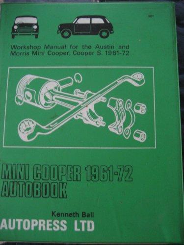 9780851473017: Mini Cooper 1961-72 Autobook