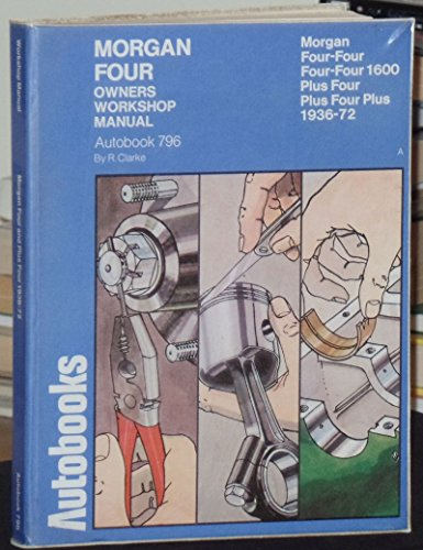 9780851474687: Morgan Four and Plus Four 1936-72 Autobook (The autobook series of workshop manuals)