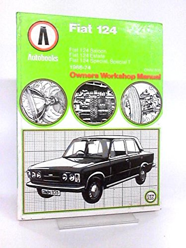 Fiat 124 Sport 1966-74 Autobook 925 .: Ball, Kenneth