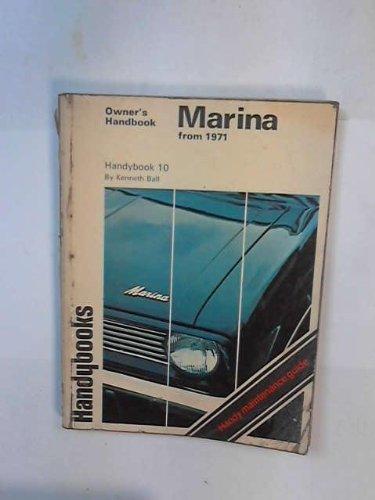 9780851478432: Morris Marina from 1971 Handybook (Handybooks)