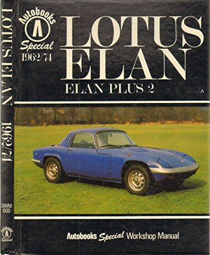 9780851478944: Lotus Elan Special Workshop Manual