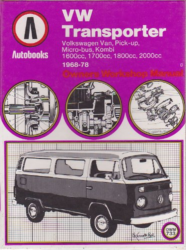 9780851479927: Volkswagen Transporter 1968-78 Autobook (The autobook series of workshop manuals)