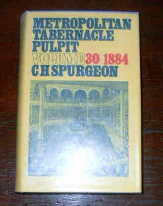 9780851510521: Metropolitan Tabernacle Pulpit 1884 Vol 30