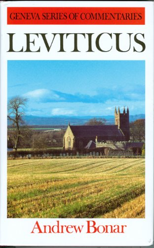 9780851510866: Leviticus (Geneva Series of Commentaries)