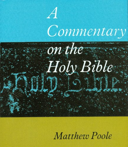 9780851512112: Commentary on the Holy Bible