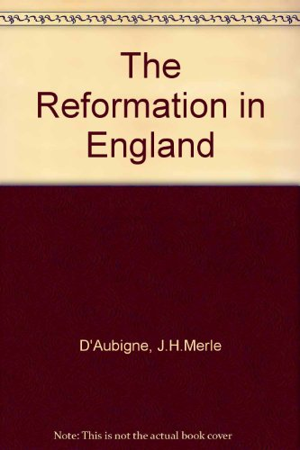 9780851514888: Reformation in England