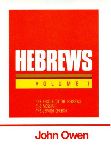 9780851516127: Hebrews, Volume 1 (Works of John Owen, Volume 17)