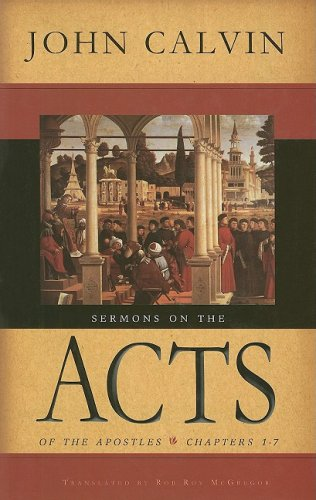 9780851519685: Sermons on the Acts of the Apostles: Chapters 1-7