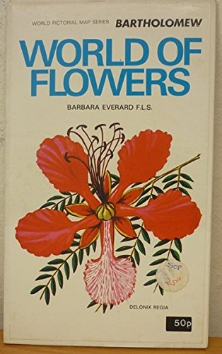 World of Flowers: Pictorial Map: John Bartholomew and