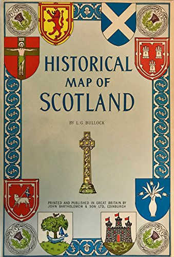 9780851525686: Historical Map of Scotland