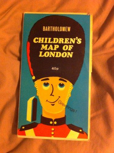 9780851525907: London Children's Map
