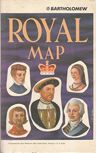 Royal Map: Pictorial Map: John Bartholomew and