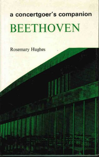 9780851570709: Beethoven (Concertgoer's Companion)