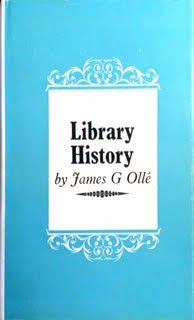 9780851571041: Library History (An Examination guidebook)