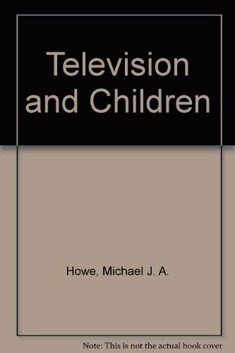 9780851575179: Television and Children