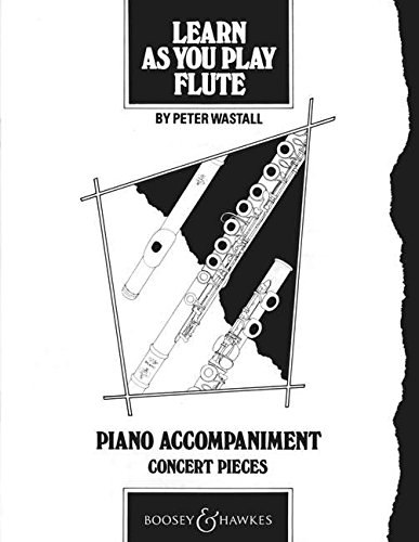 9780851620510: Learn as You Play Flute: Piano Accompaniment (Learn as You Play Series)