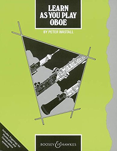 9780851620527: Learn as You Play Oboe: Tutor Book