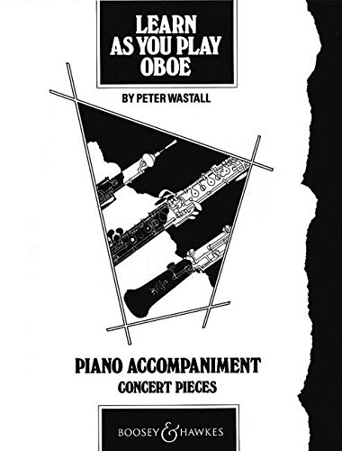 9780851620534: Learn as You Play Oboe: Piano Accompaniment