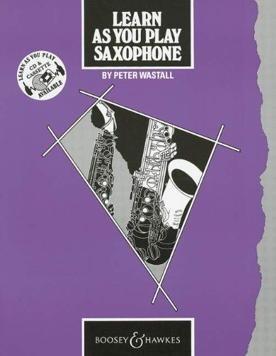 9780851620589: Learn as You Play Saxophone