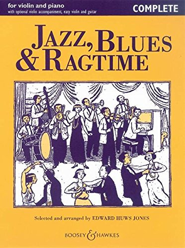 9780851621258: Jazz, Blues & Ragtime: Violin and Piano - Complete