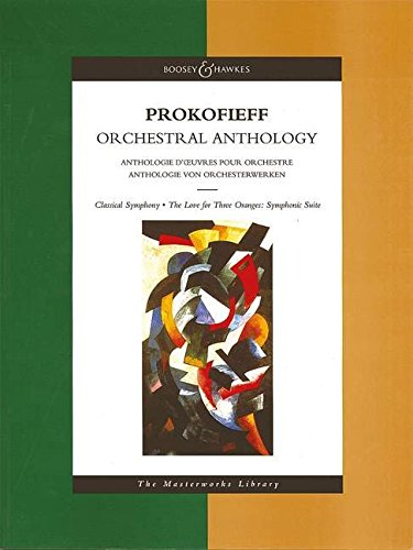9780851622040: Prokofieff Orchestral Anthology (Classical Symphony, The Love for Three Oranges: Symphonic Suite)