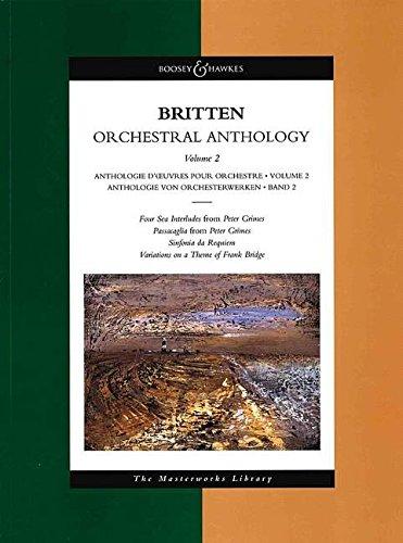 9780851622057: Benjamin Britten Orchestral Anthology: 2