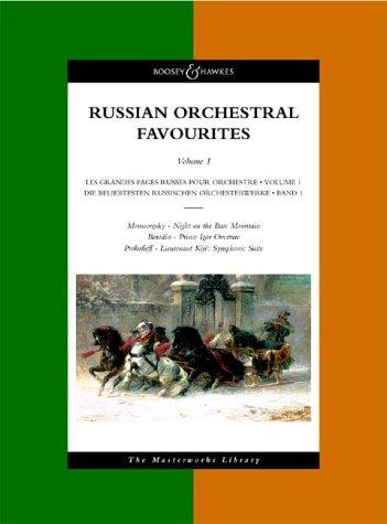 9780851622064: Russian Orchestral Favourites, Vol. 1 (Moussorgsky: Night on the Bare Mountain, Borodin: Prince Igor Overture, Prokofieff: Lieutenant Kijé: Symphonic Suite)