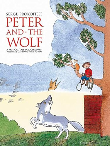 9780851622699: Peter and the Wolf Children's Book With Easy Piano Pieces: Easy Piano