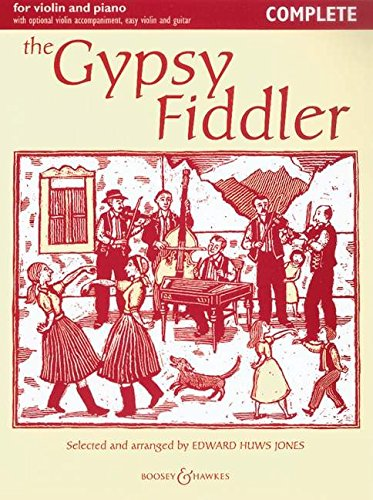 Gypsy Fiddler (Violin/Piano): HUWS JONES, E