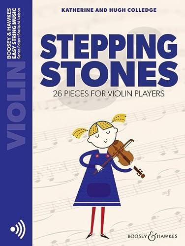 9780851622804: Stepping Stones. Violine und Klavier: 26 Stücke für Anfänger: 20 Pieces for Beginning Violinists with Piano (Easy String Music)