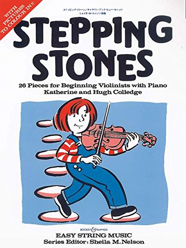 9780851622804: Stepping Stones. Violine und Klavier: 26 St�cke f�r Anf�nger