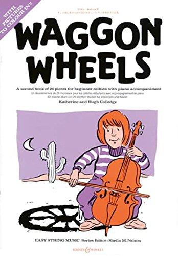 9780851622859: Waggon Wheels: Violoncello und Klavier.