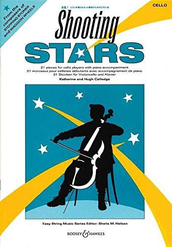 9780851622972: Shooting Stars. Violoncello und Klavier: 21 St�cke