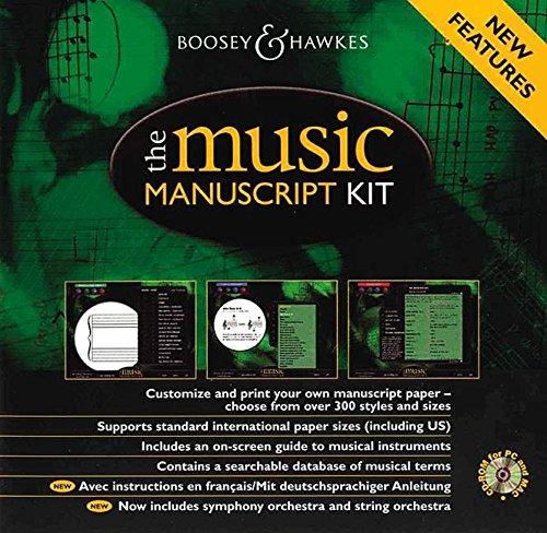 9780851623054: Music Manuscript Kit CD ROM