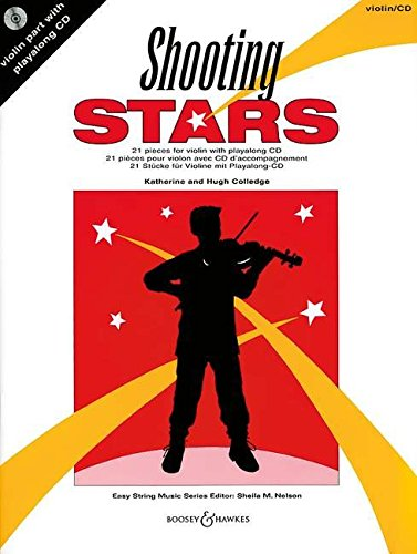 9780851623719: Shooting Stars for Violin: 21 Pieces